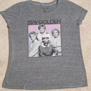 ABC Studios, Gray Golden Girls T-shirt, medium